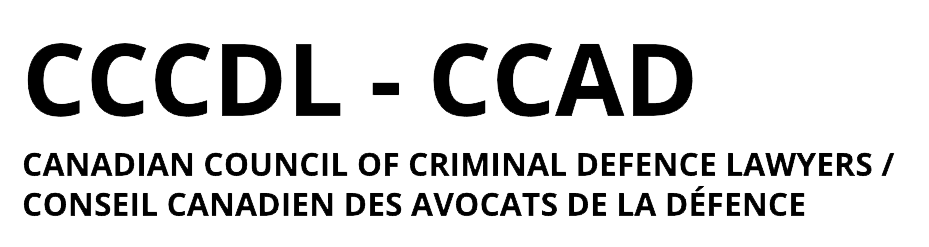 Canadian Council of Criminal Defence Lawyers Logo